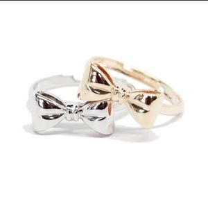 Gold or Silver Bow Ring